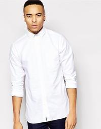 Оксфордская рубашка Jack & Jones - Белый