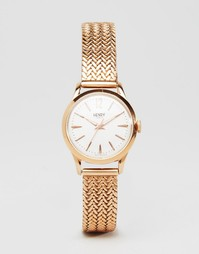 Часы цвета розового золота Henry London HL25-M-0022 Richmond