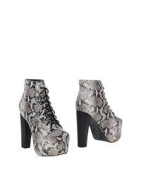 Черные Полусапоги и высокие ботинки Jeffrey Campbell