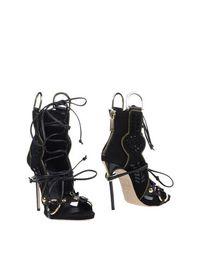 Черные Полусапоги и высокие ботинки Dsquared2