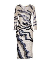 Платье до колена Farah Khan