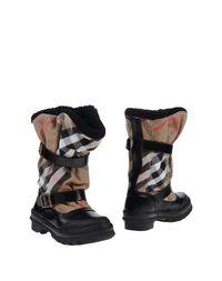 Черные Полусапоги и высокие ботинки Burberry London