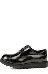 Лаковые туфли с протектором Dsquared2