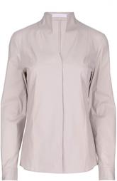 Блуза прямого кроя с воротником-стойкой HUGO BOSS Black Label