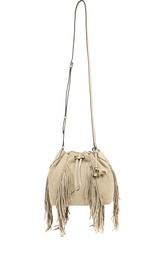 Замшевая торба с бахромой Diane Von Furstenberg
