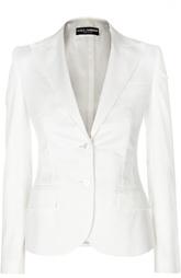 Приталенный жакет на пуговицах с карманами Dolce & Gabbana