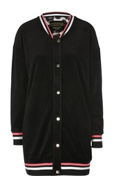 Удлиненная куртка с контрастными манжетами Juicy Couture