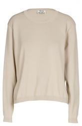 Пуловер прямого кроя с круглым вырезом Acne Studios