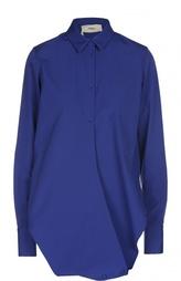 Хлопковая блуза асимметричного кроя Ports 1961