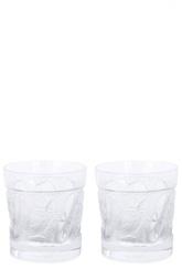 Набор из 2-х стаканов для виски Owl Lalique