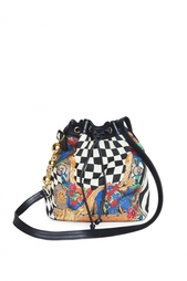 Принтованная сумка (90-е гг.) Gianni Versace Vintage