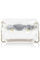 Сумка из пластика Clutch Rainbow Shourouk