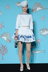Хлопковая юбка Olympia Le Tan