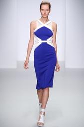 Платье из вискозы David Koma