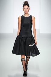 Платье из искусственного шелка Simone Rocha