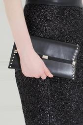 Кожаный клатч Envelope Clutch Diane von Furstenberg