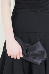 Шелковый клатч Loubibow Clutch Christian Louboutin