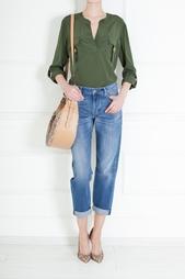 Шелковая блузка Danielle Diane von Furstenberg