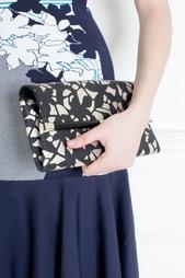 Кожаный клатч Envelope Clutch Leather Lace Diane von Furstenberg