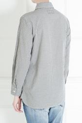 Хлопковая рубашка Current/Elliott