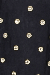 Замшевое платье Anthony Vaccarello
