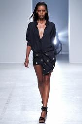 Шелковая юбка Anthony Vaccarello