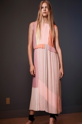 Шелковое платье Victoria by Victoria Beckham