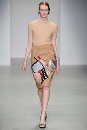 Шерстяная юбка Holly Fulton