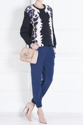 Хлопковые брюки Rhea Mother of Pearl