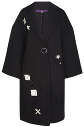 Пальто с вышивкой Noon By Noor