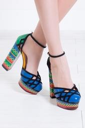 Кожаные туфли Ay Caramba! Charlotte Olympia