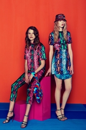 Платье-мини с коротким рукавом House of Holland