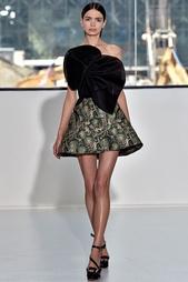 Принтованная юбка-мини Delpozo