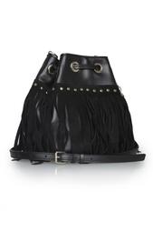 Кожаная сумка Disco Diane von Furstenberg