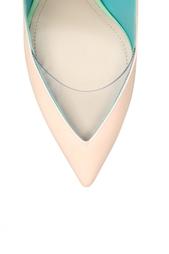 Туфли из лакированной кожи Nicholas Kirkwood