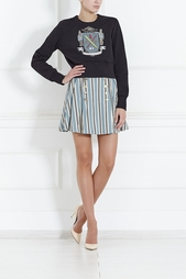 Шерстяная юбка Olympia Le Tan