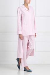 Хлопковый пижамный костюм Izba Rouge