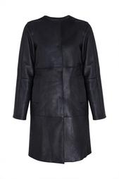 Пальто из дубленой овчины Jil Sander Navy
