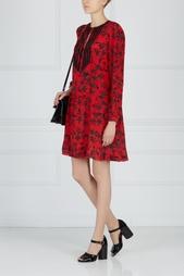Шелковое платье Zadig&;Voltaire