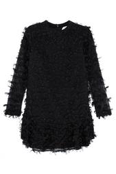 Платье из шелка и шерсти No.21