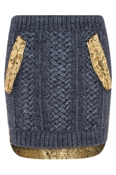 Вязаная юбка No.21