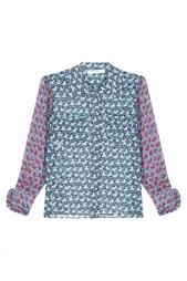 Шелковая блузка Philosophy Di Lorenzo Serafini