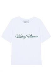 Хлопковая футболка Walk of Shame
