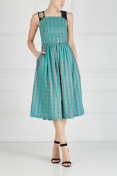 Платье в клетку No.21