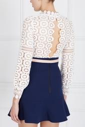 Платье Crochet lace a-line Self Portrait