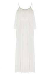 Платье с перьями Ozlem Suer