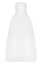 Платье-бюстье с пайетками Helen Miller
