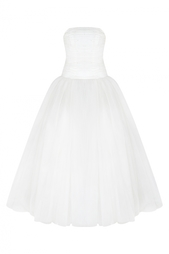 Платье-бюстье с жемчугом Helen Miller