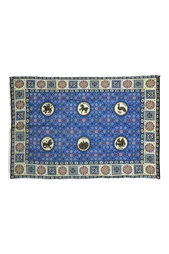 Шелковая шаль «Византийский бестиарий» Gourji
