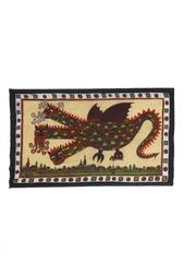 Кашемировая шаль «Змей Горыныч» Gourji
